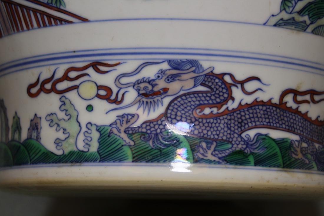 Chinese Doucai Blauster Jar - Albert Gallatin Estate - 4