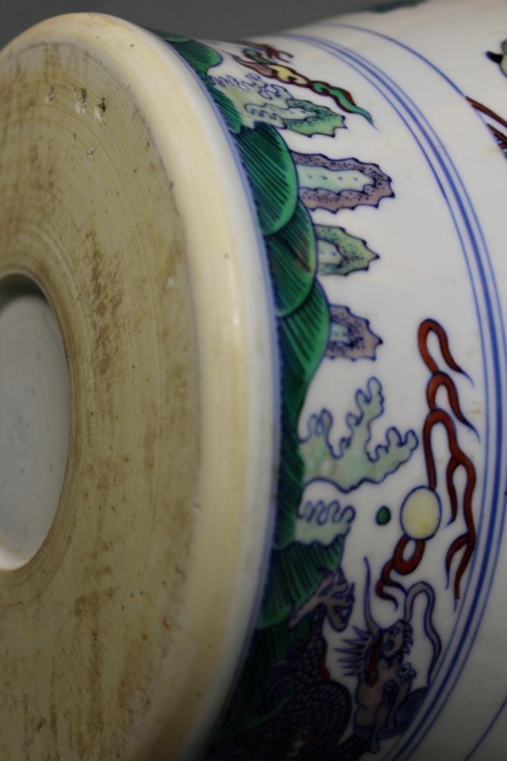Chinese Doucai Blauster Jar - Albert Gallatin Estate - 9