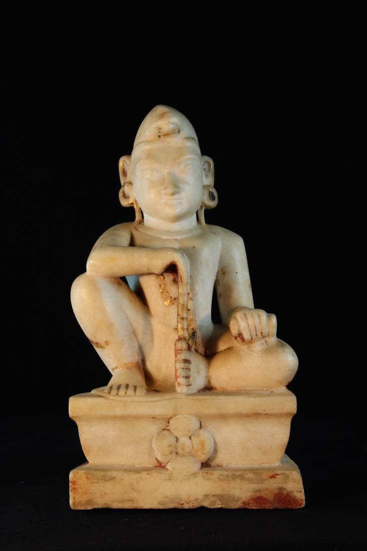 Antique Indian Marble Statue