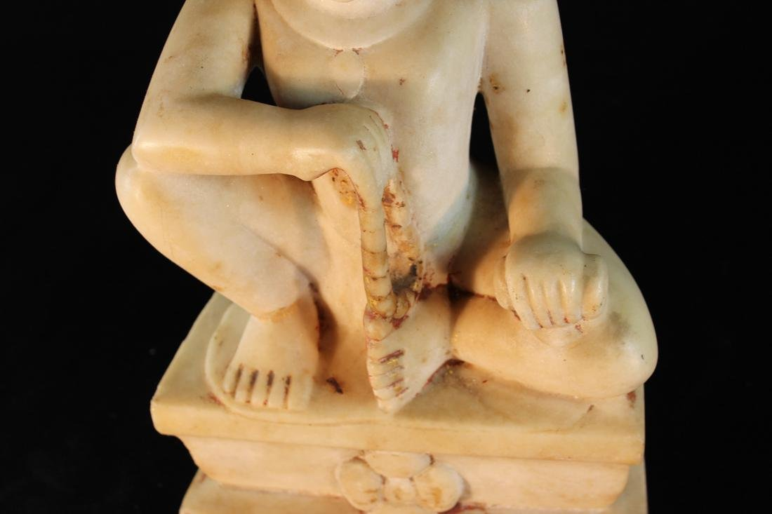 Antique Indian Marble Statue - 3