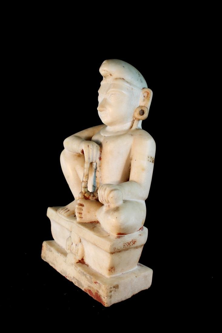 Antique Indian Marble Statue - 4