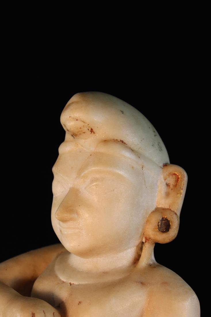 Antique Indian Marble Statue - 5