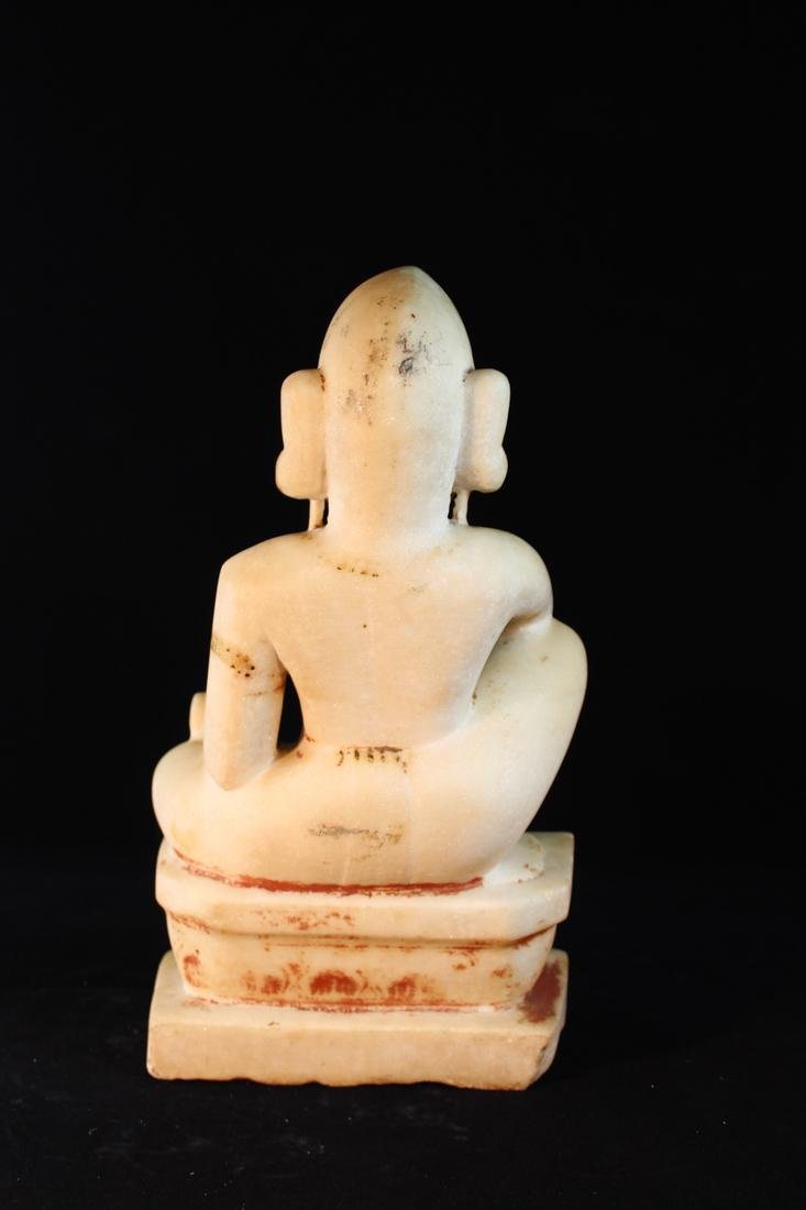 Antique Indian Marble Statue - 7