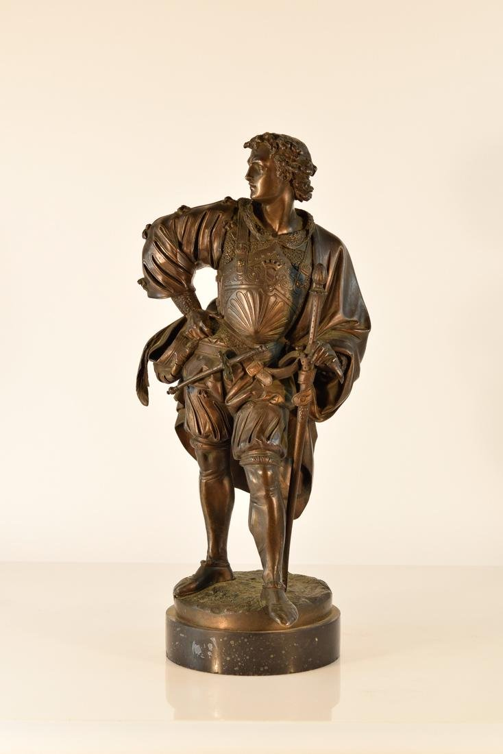 French Bronze by Albert Ernest Carrier Belleuse