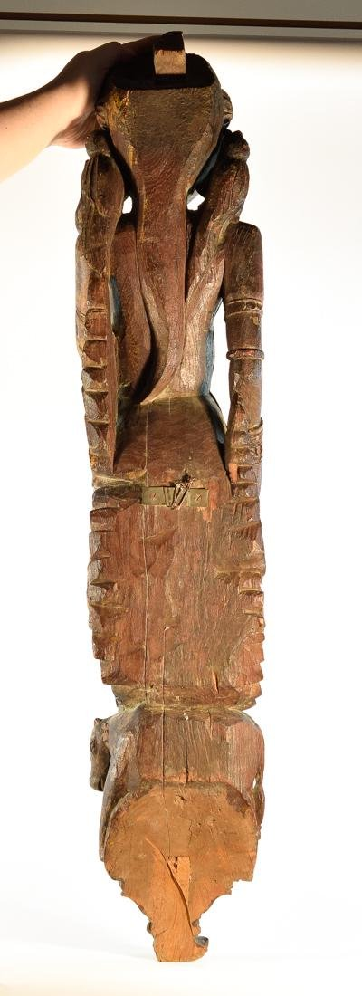 Indian Wood Dancer from Rajestan Region 17th cen - 9