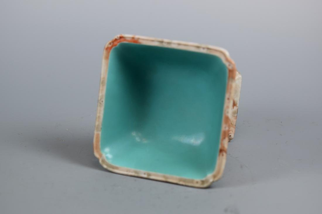 Chinese Porcelain Square Stem Bowl - 4