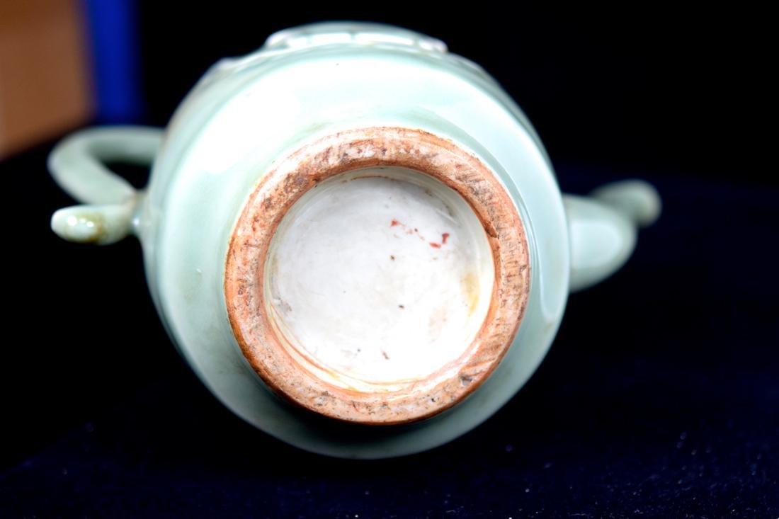 Chinese Celadon Porcelain Wine Ewer - 7