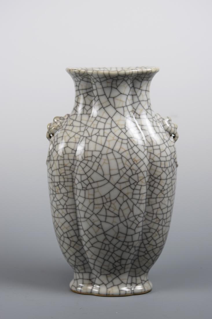 Chinese Ge Crackle Porcelain Vase
