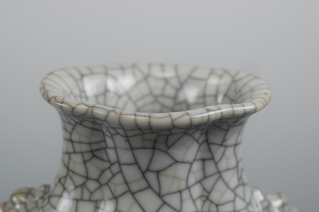 Chinese Ge Crackle Porcelain Vase - 2