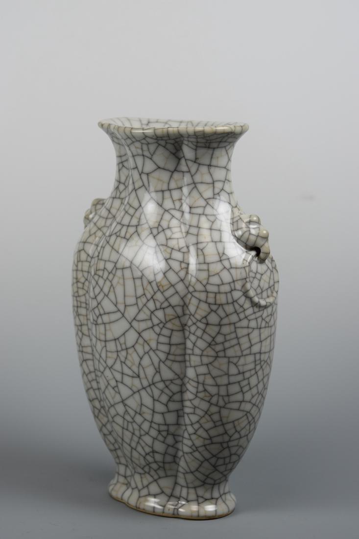 Chinese Ge Crackle Porcelain Vase - 3