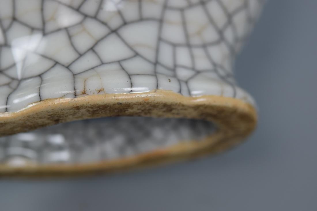 Chinese Ge Crackle Porcelain Vase - 7