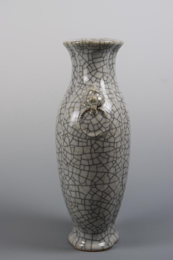 Chinese Ge Crackle Porcelain Vase - 8