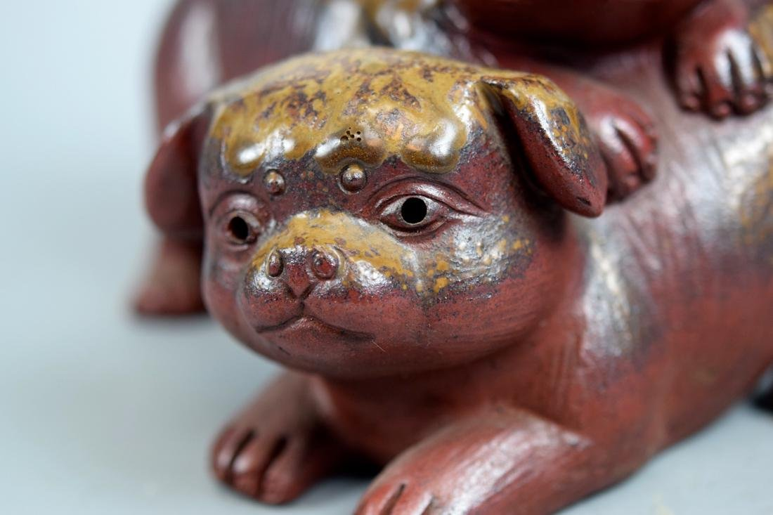 Japanese Bizen Model of Puppy Group - 3