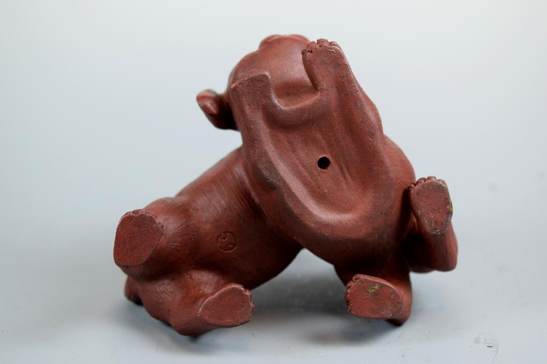 Japanese Bizen Model of Puppy Group - 8