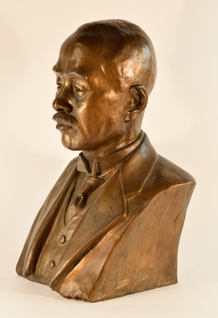 Japanese Bronze Sculpture of Imperial Family Member - - 5