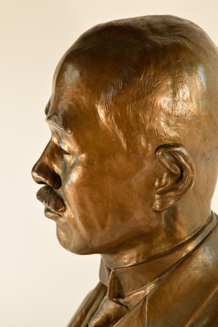 Japanese Bronze Sculpture of Imperial Family Member - - 6