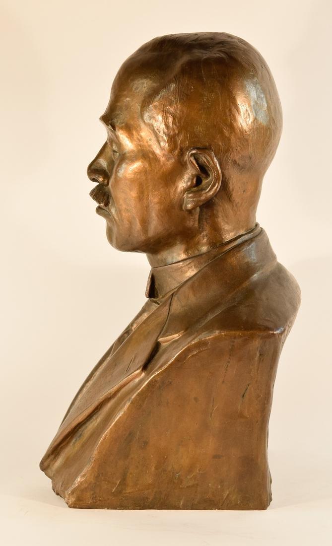 Japanese Bronze Sculpture of Imperial Family Member - - 7