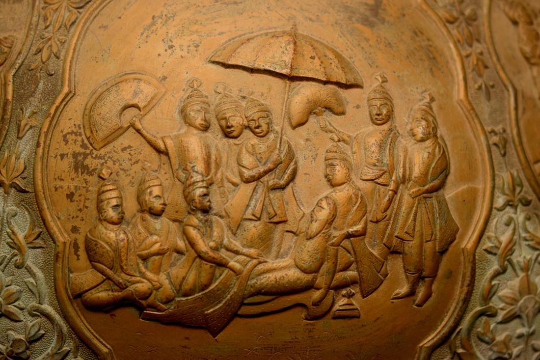 Massive Persian Mideastern Indian Bronze Vase - 2