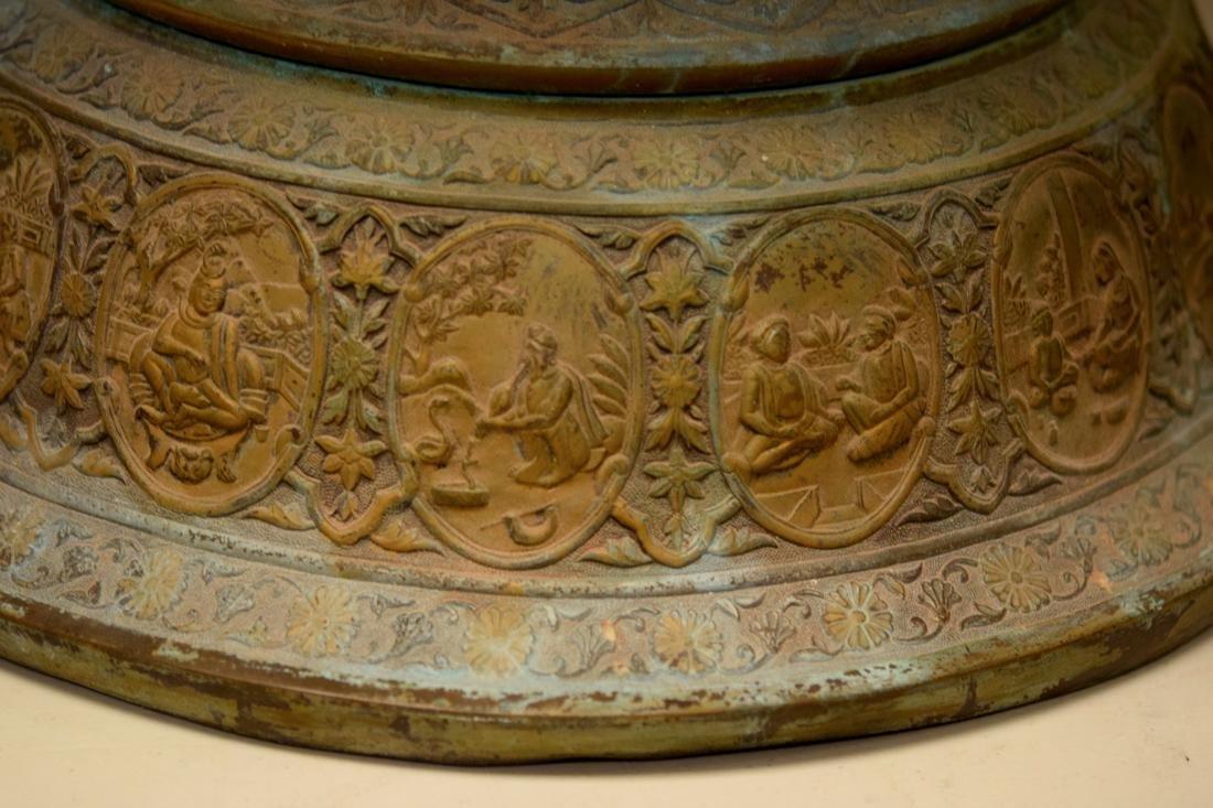 Massive Persian Mideastern Indian Bronze Vase - 7
