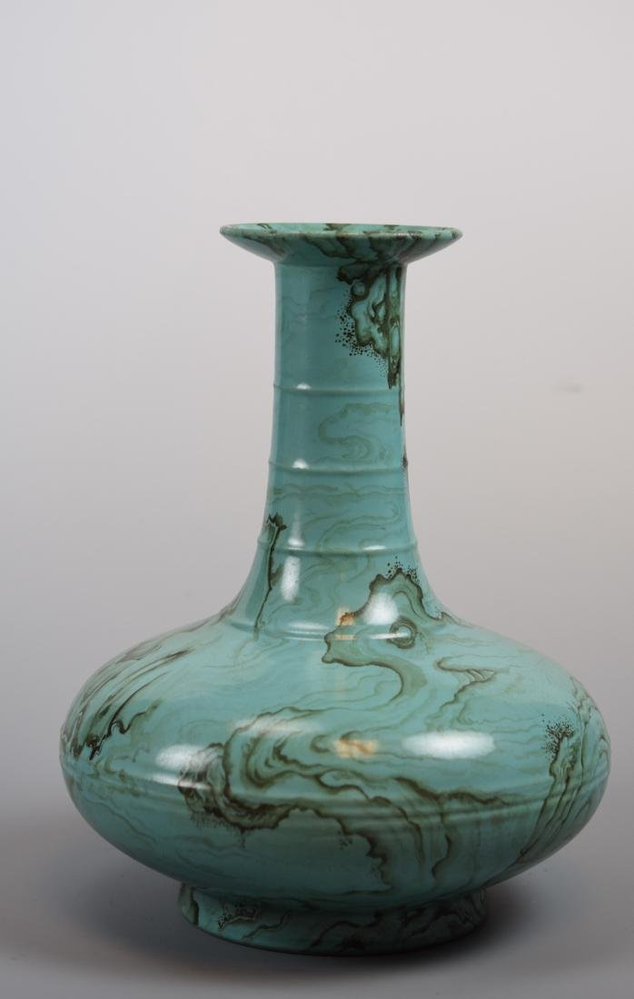 Chinese Porcelain Vase with Unusual Rock and Cloud - 4