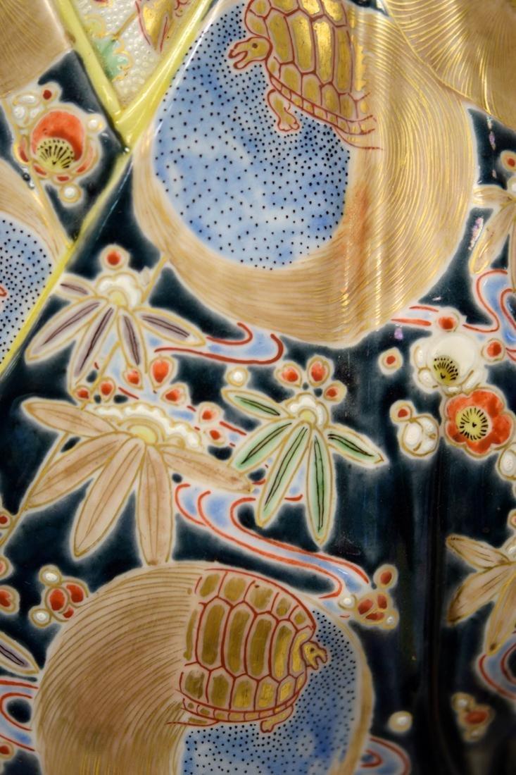 Massive Pair Japanese Kutani Porcelain Figurines - 4