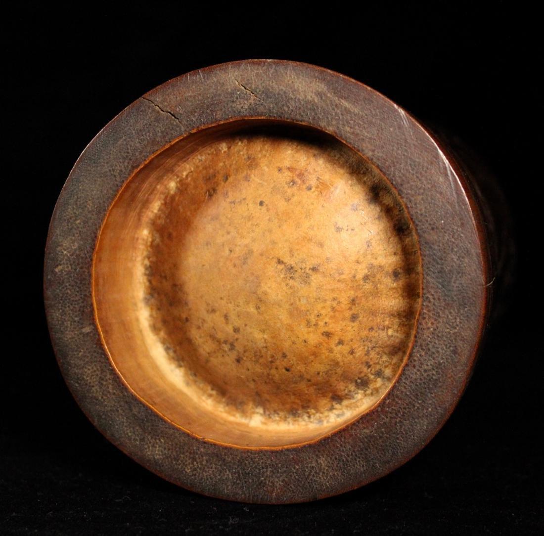 Japanese Edo Period Bamboo Brushpot - 8