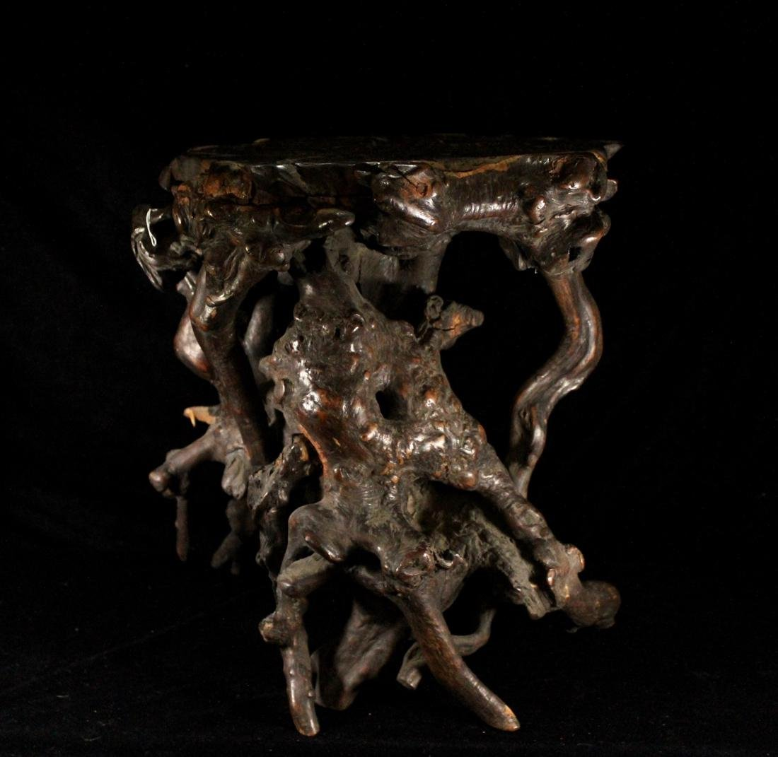 Chinese Scholar Tree Root Stand