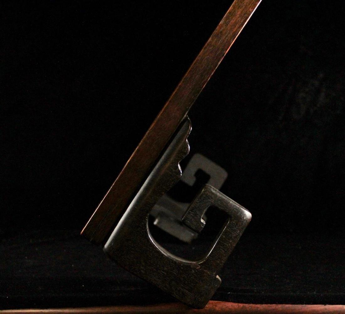 Chinese Rectangular Hardwood Stand - 2