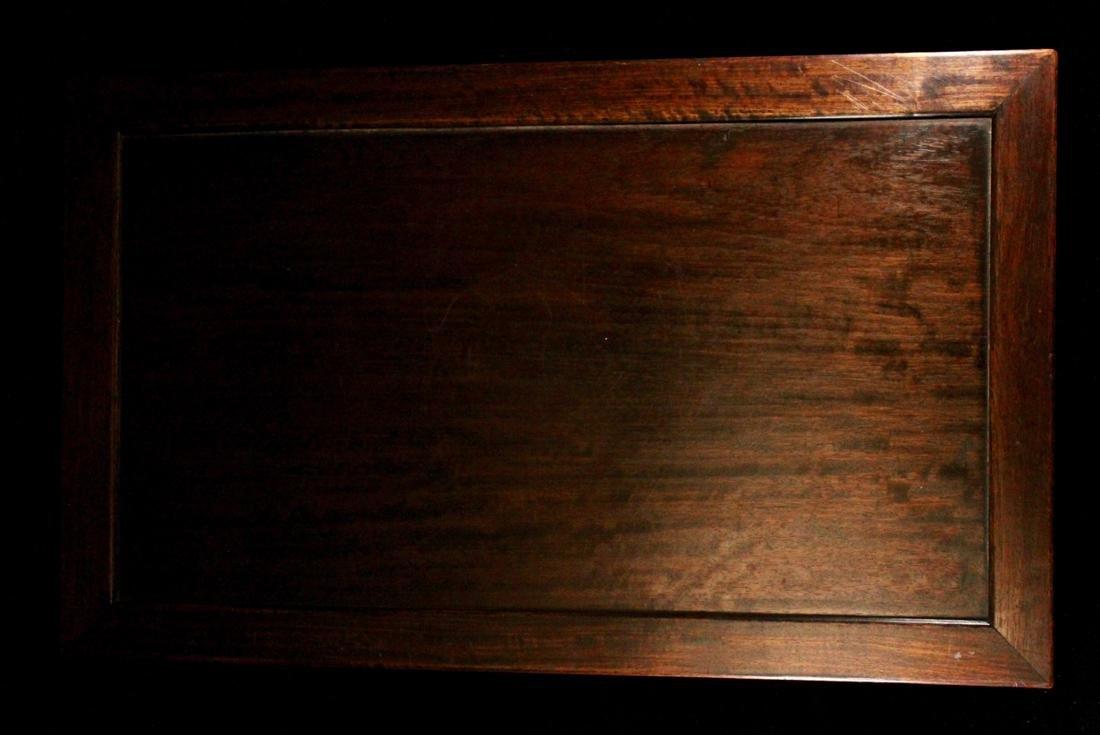 Chinese Rectangular Hardwood Stand - 5
