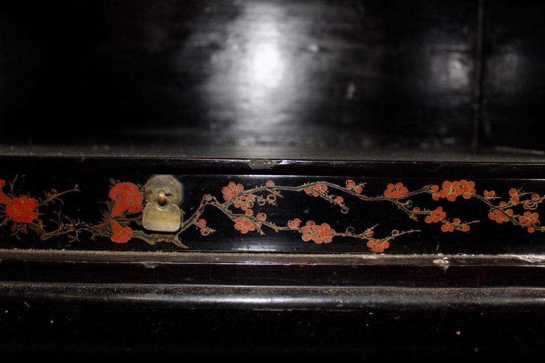 Chinese Ming Lacquer Chest with Mother of Pearl Inlay - 10