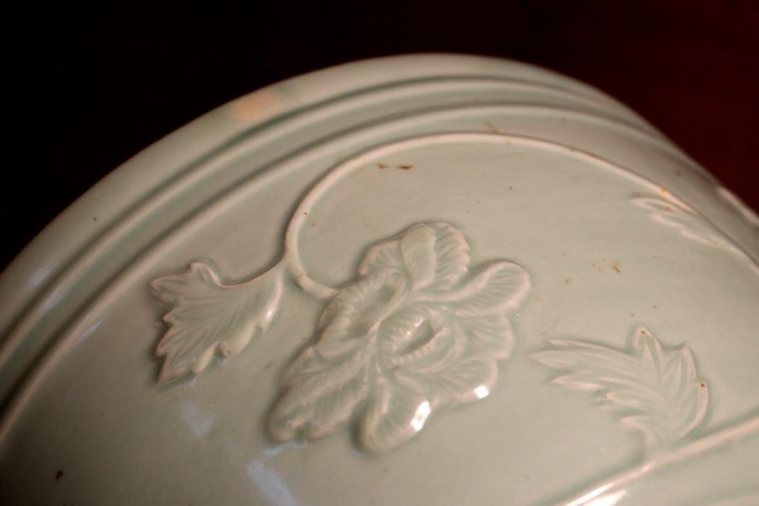 Chinese Ming Porcelain Celadon Fishbowl - 6