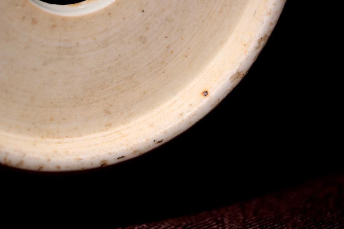 Chinese Sancai Porcelain Scholar Elbow Rest Drum - 7