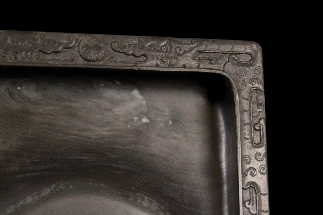 Chinese Inkstone with Dragon Motif - 4