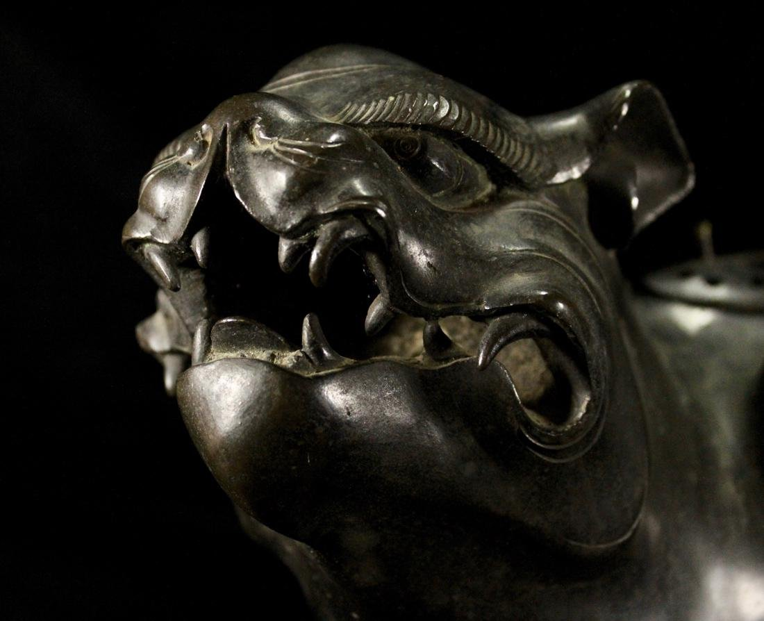 Early Japanese or Korean Bronze Tiger - 2