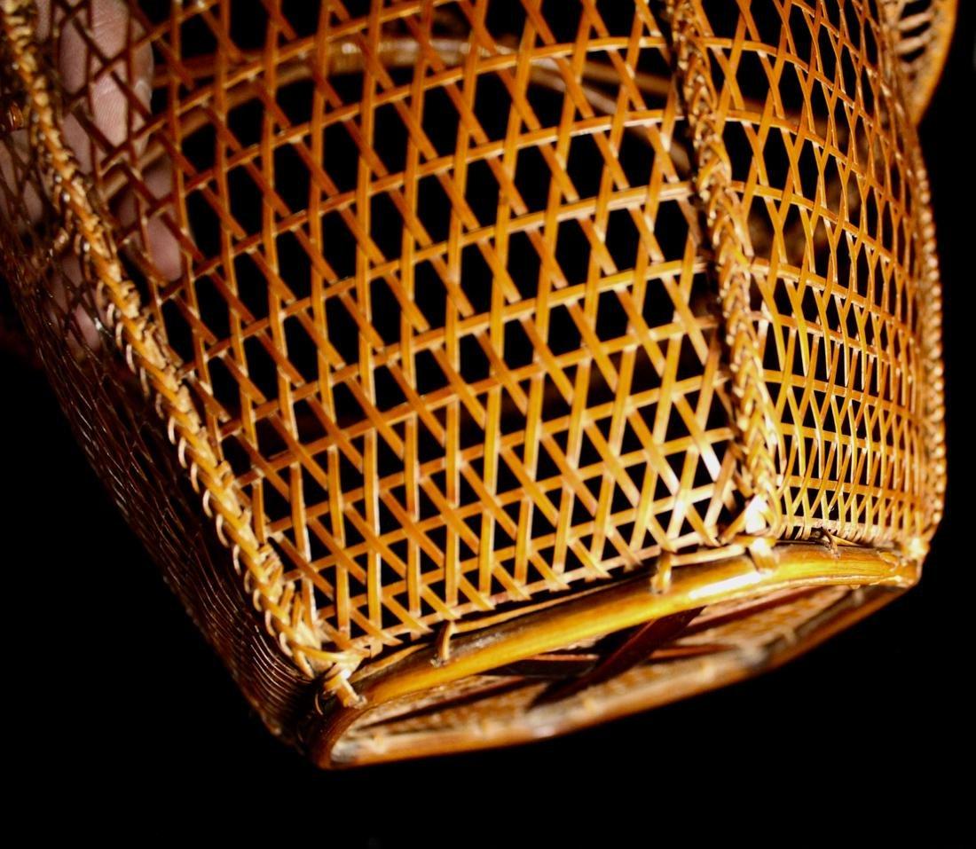 Japanese Signed Basket with Presentation Box - 6