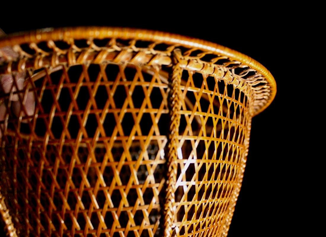 Japanese Signed Basket with Presentation Box - 7