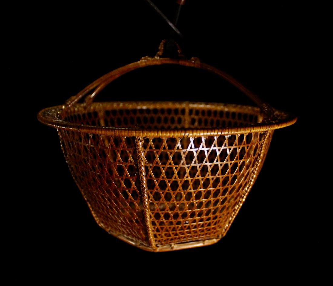 Japanese Signed Basket with Presentation Box - 9
