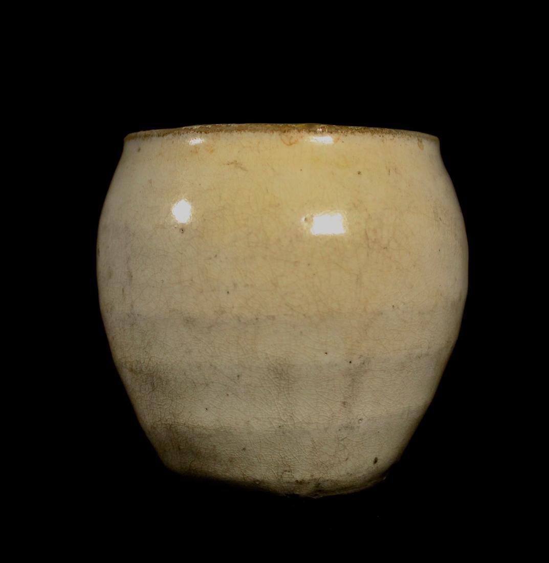 Korean White Glazed Porcelain Vase