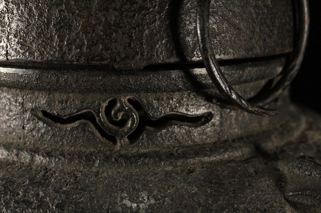 Japanese Iron Tea Censer - 6