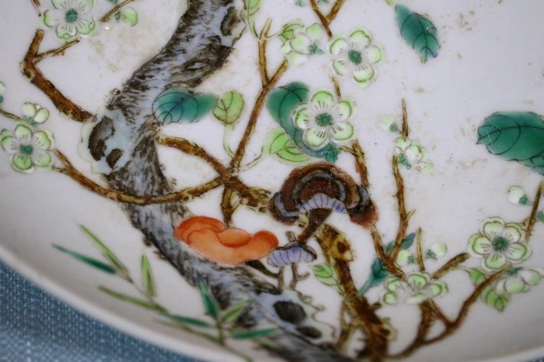 Chinese Porcelain Dish with Plum Blossom Scene - 2