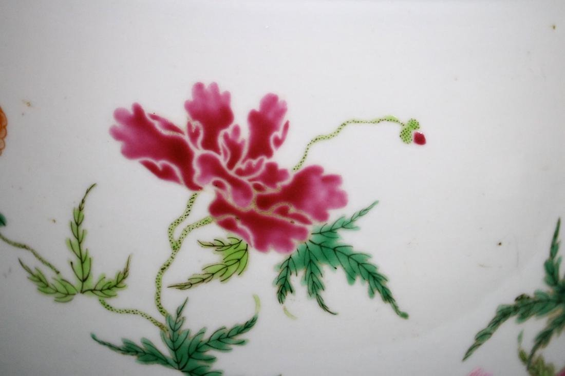 Chinese Famille Rose Porcelain Scholar Fishbowl - 2