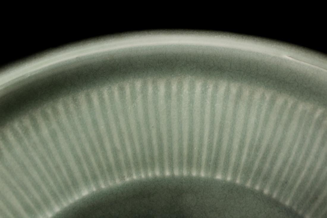 Chinese Song / Yuan Celadon Porcelain Dish with Kirin - 6