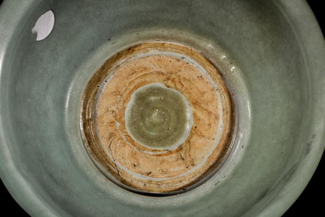 Chinese Song / Yuan Celadon Porcelain Dish with Kirin - 8