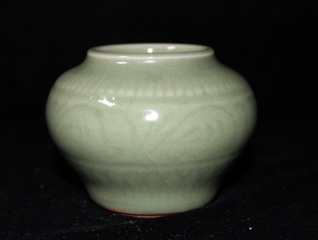 Chinese Ming Celadon Miniture Jar