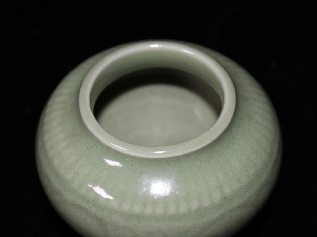 Chinese Ming Celadon Miniture Jar - 2
