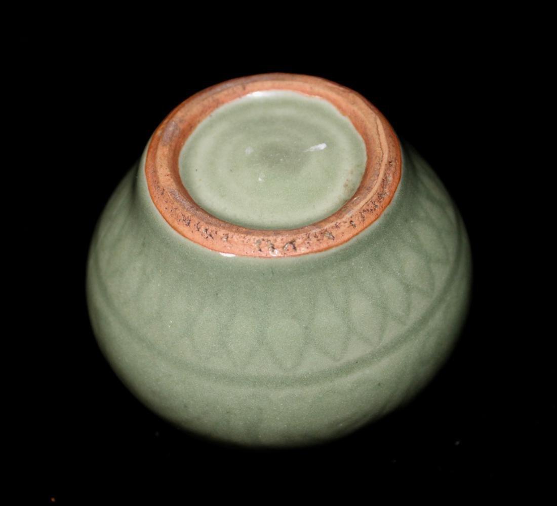 Chinese Ming Celadon Miniture Jar - 3