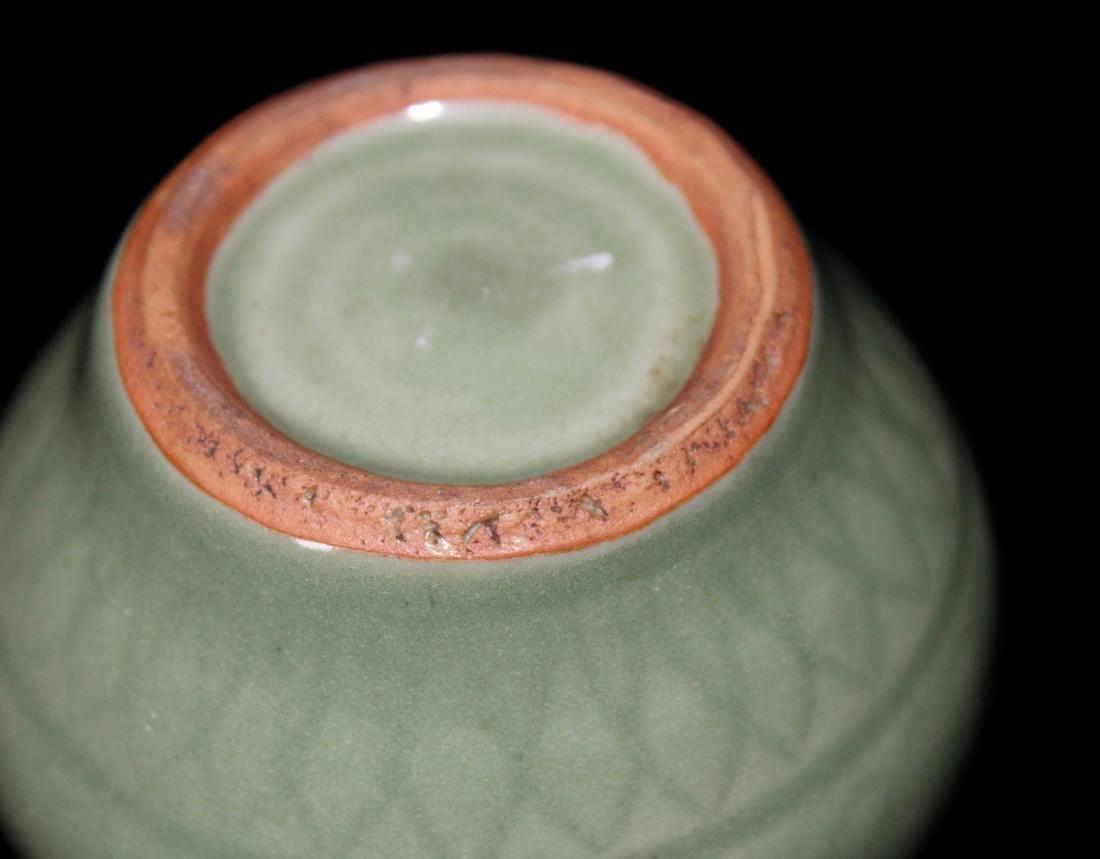 Chinese Ming Celadon Miniture Jar - 4