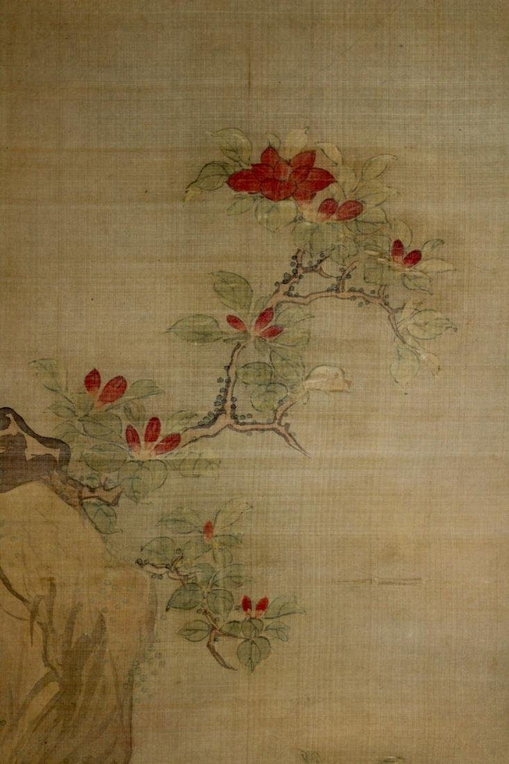 Chinese Scroll Painting of Two Birds - 5