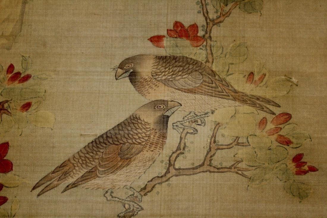 Chinese Scroll Painting of Two Birds - 7