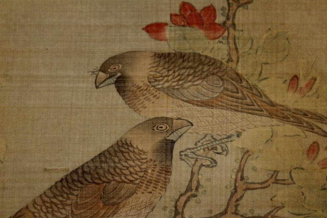 Chinese Scroll Painting of Two Birds - 8